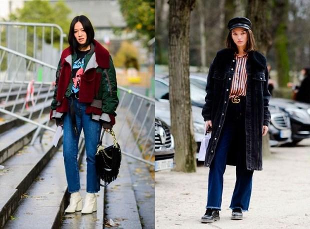 Women fashion jeans fall 2019 winter 2020