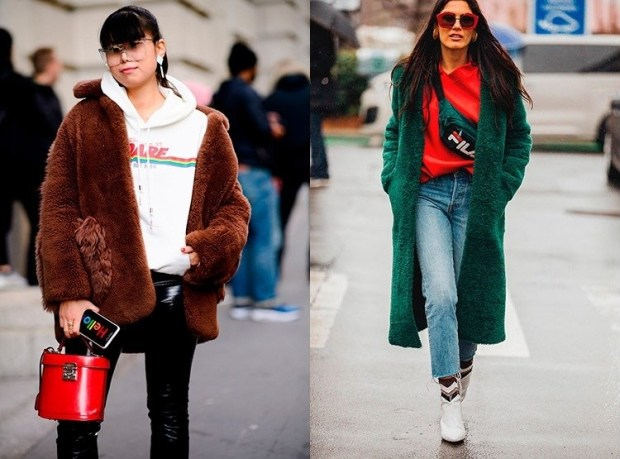 Street style fashion winter 2020