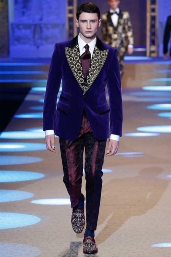 Men fashion fall 2019 winter 2020 retro style