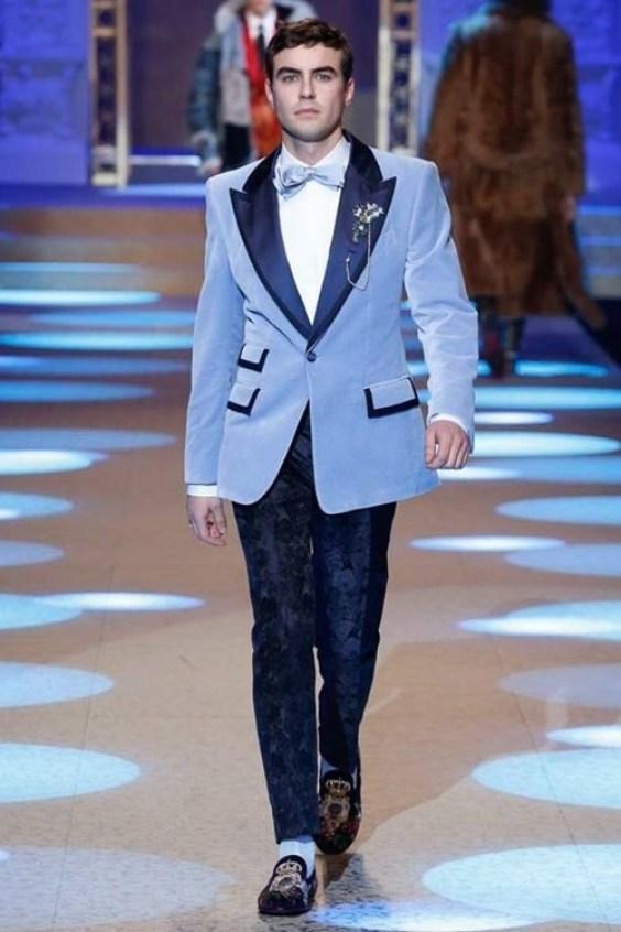 retro style elegant suit