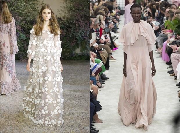 Evening dresses 2019 2020 fall winter pastel shades
