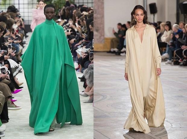 elegant wide dress