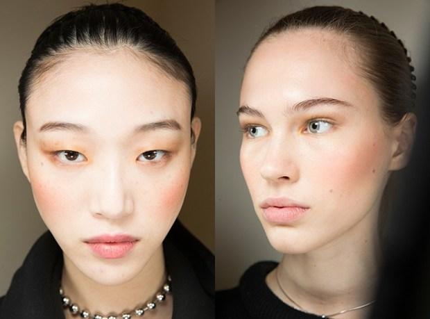 Makeup 2020 peach blush