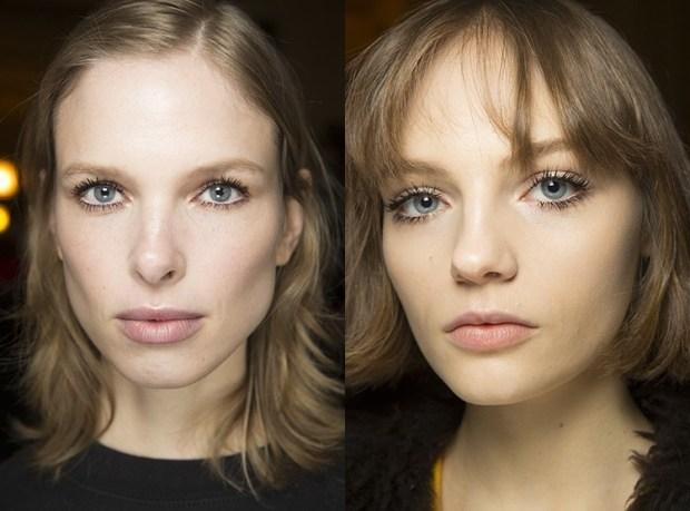 Natural blue eye makeup