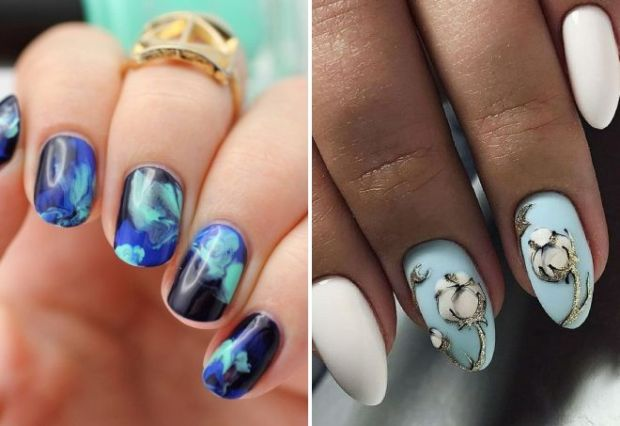 Gel nails designs for the holiday party 2019