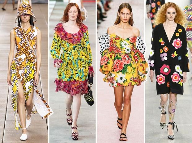 Floral prints NYFW 2020