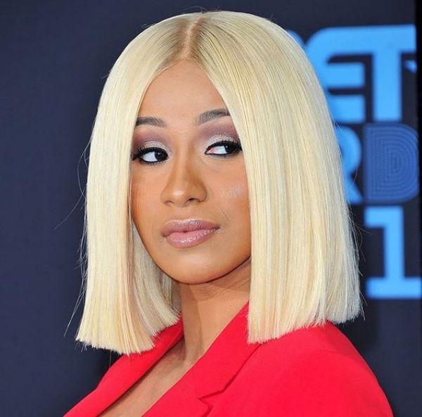 Blunt bob haircuts celebrities 2020