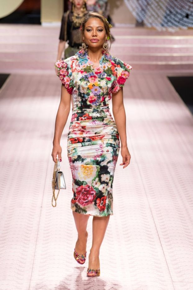 Dresses with floral print 2020