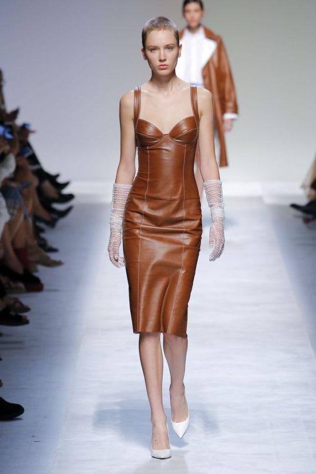 Stylish leather dresses 2020