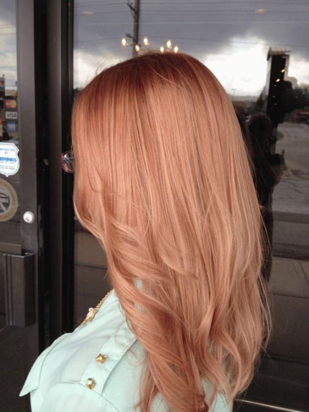 Hair dye 2020 blonde