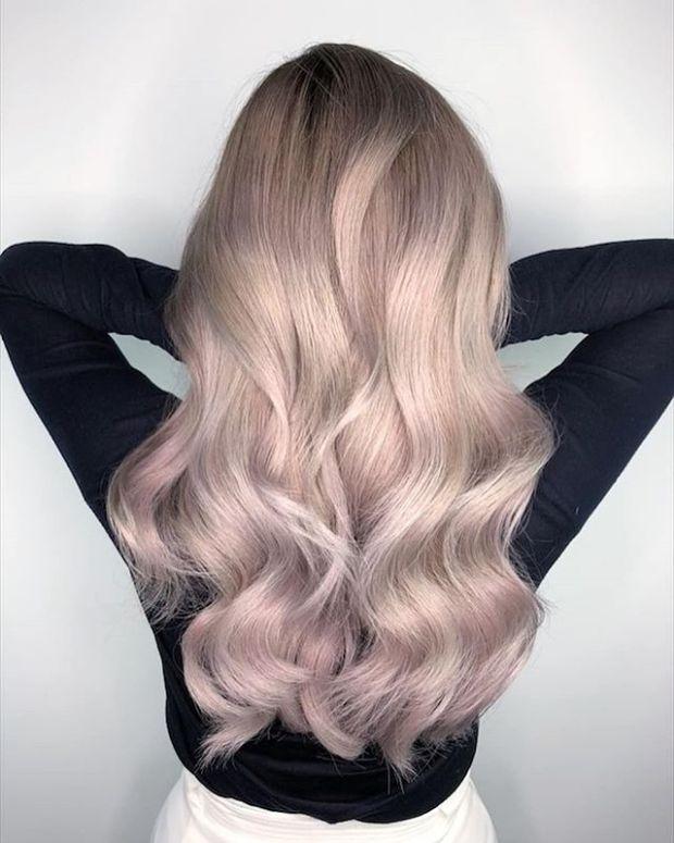 Pastel blond hair dye 2020