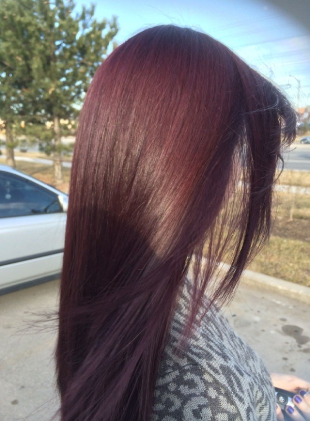 Cherry hair color