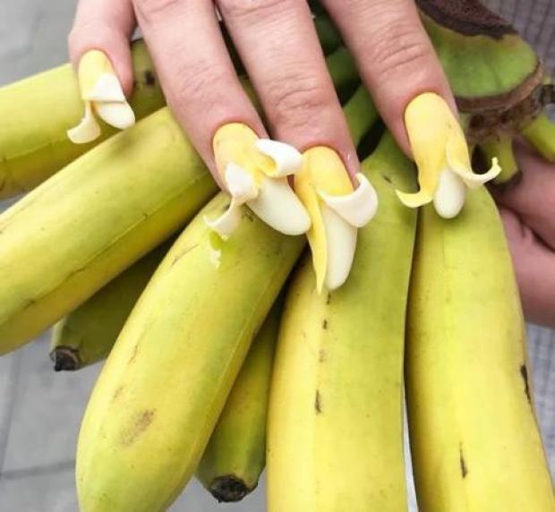Unusual manicure