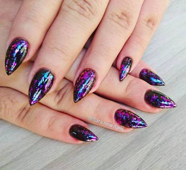 New nail designs 2020 hologram