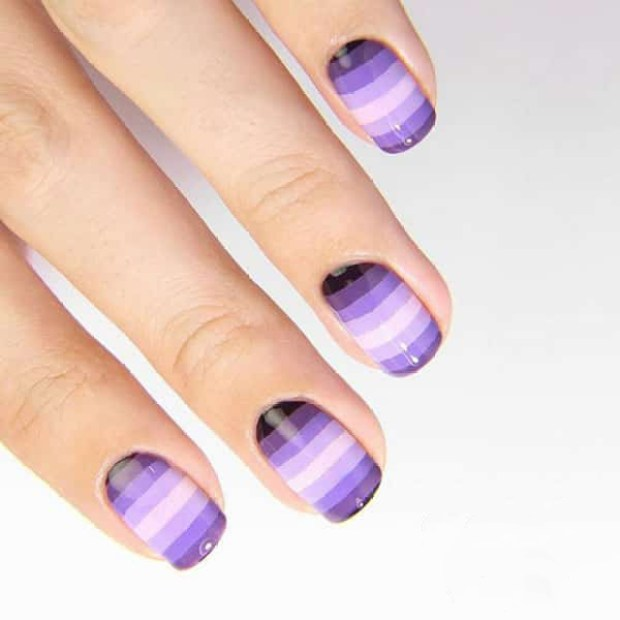 Ombre nail trends 2020