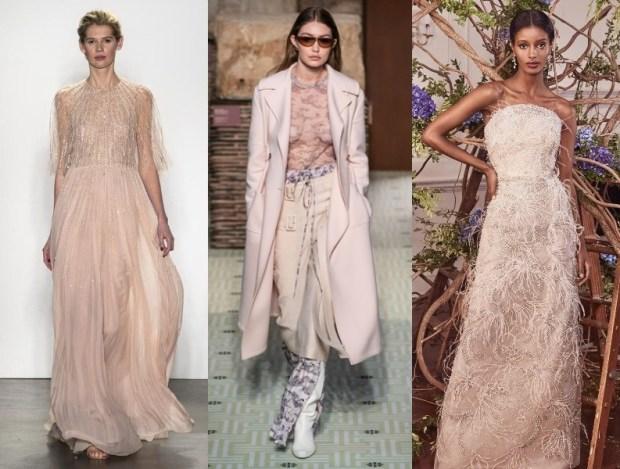 Fashion pastel shades 2021