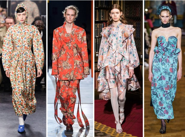 Londoin fashion fall 2020 winter 2021 prints