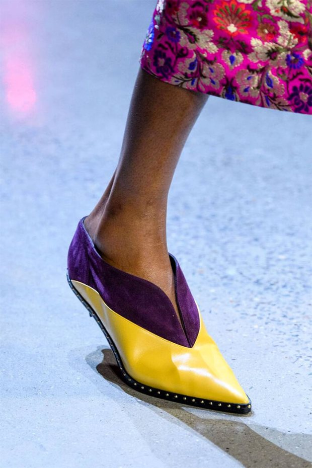 Women shoes fall winter 2020 2021 pointed toe