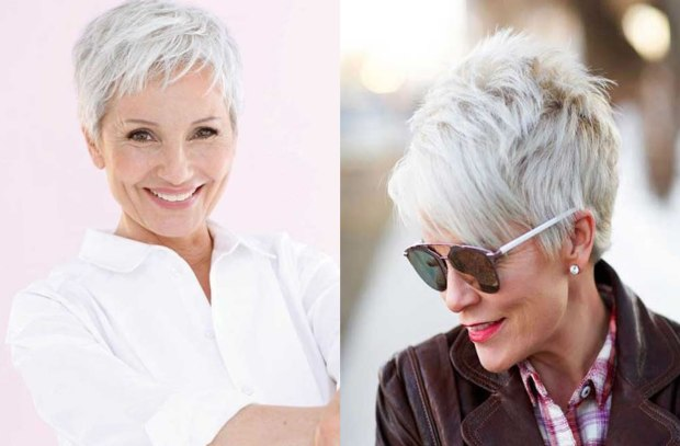 Pixie haircut for ladies over 50