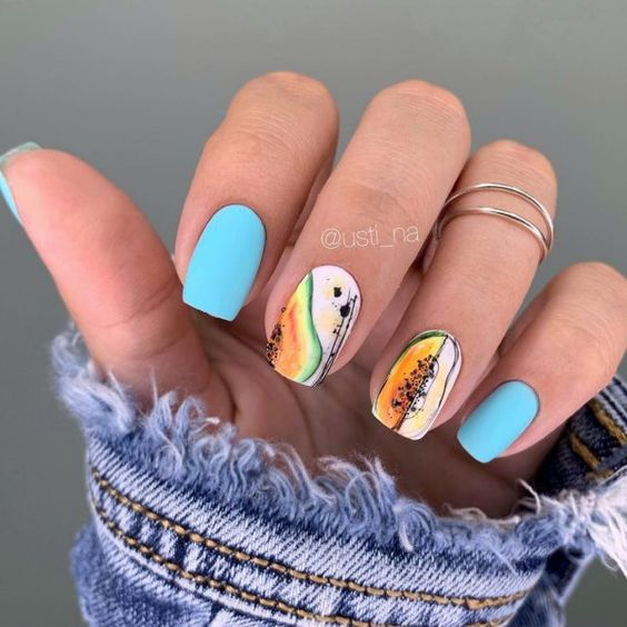 nails with drawings