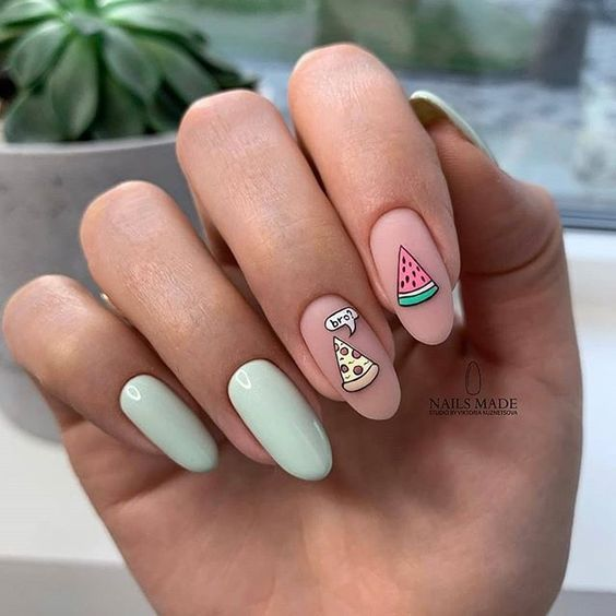Nude nails spring summer 2021