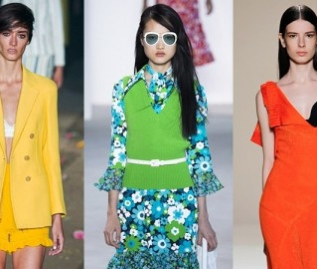 Each Season Comes With 10 Latest Fashion Colors And Spring Summer 2017 Dictates The Own Trends For Our Wardrobe Colors It Is Known That One Of The General