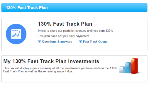 My traffic value fast track plan