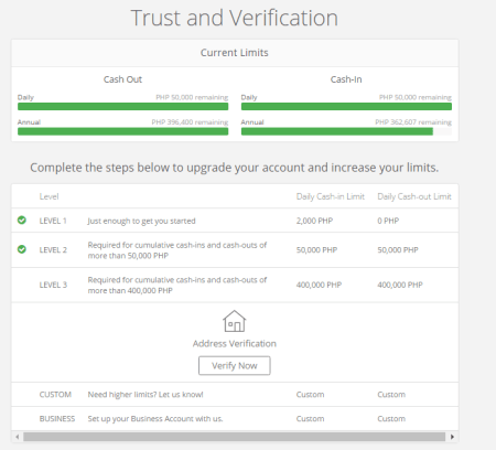 Coins.ph trust and verification