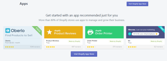Apps on shopify