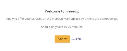 Freelancers signup