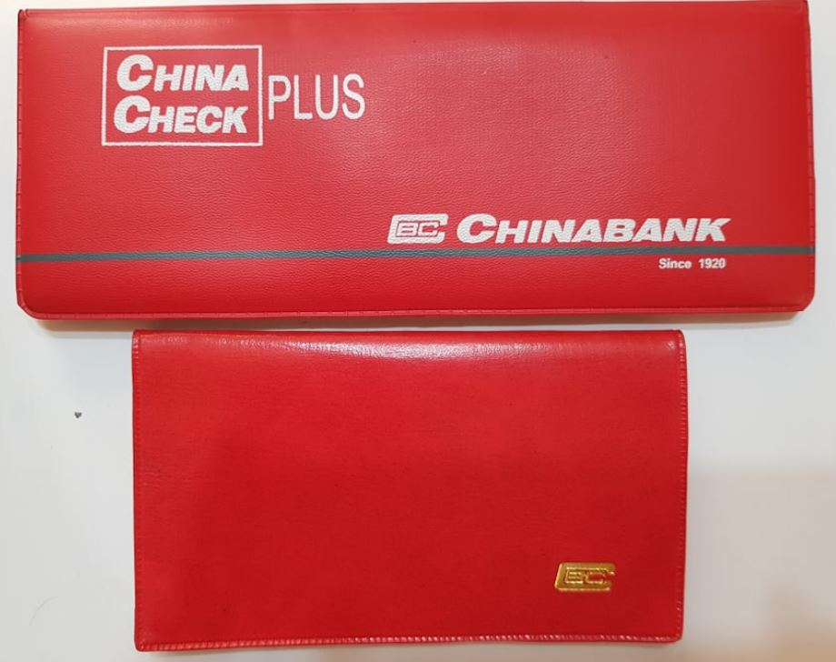 China bank Checkbook and Passbook