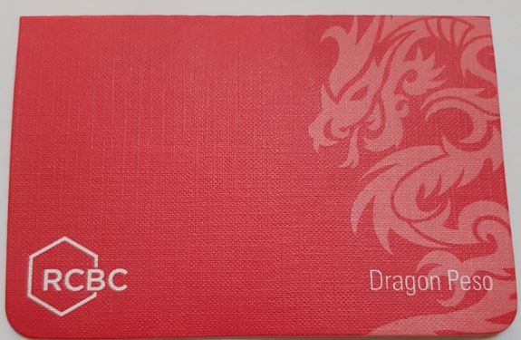 RCBC Dragon Savings Passbook