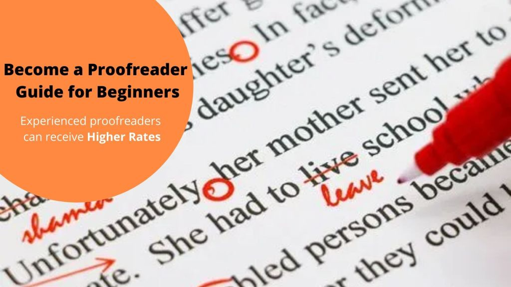 Become a Proofreader- Guide for Beginners