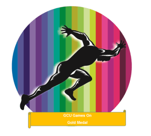 GCU Games On Gold Medal