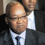 Embattled President, Jacob Zuma