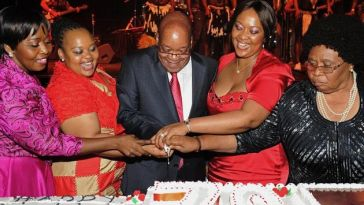zuma and wives