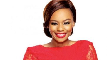 Bonang Matheda smiling