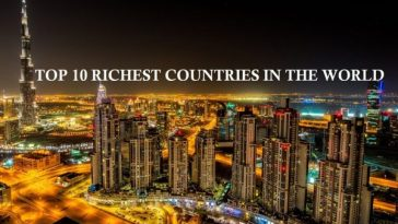 Richiest countries in the world