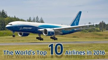 World's Top 10 Airlines In 2016