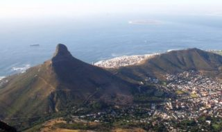 Devil's Peak, The Lion's Head, Cape town, South Africa