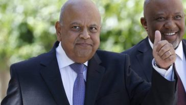 Gordhan and his deputy
