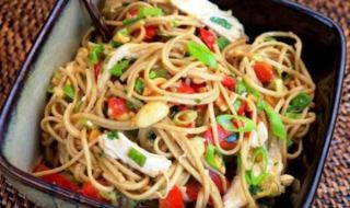 Chicken Noodles Salad