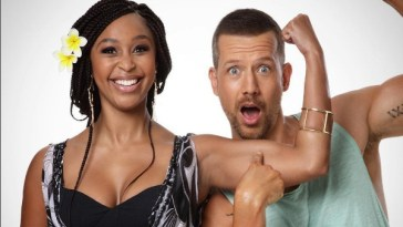 Minnie Dlamini and Jonathan Boynton-Lee