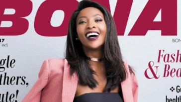 Local actress and presenter Pearl Modiadie