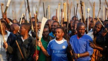 south africans riot