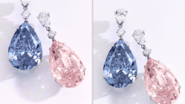 World's Most Expensive Earrings Sell For $57.4 Million