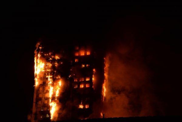Mysterious Fire Hits Grenfell Tower In London