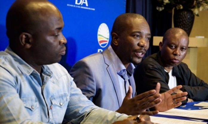 Maimane and Msimanga to lead protest
