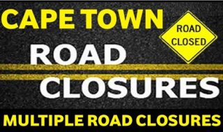 cape town road closures