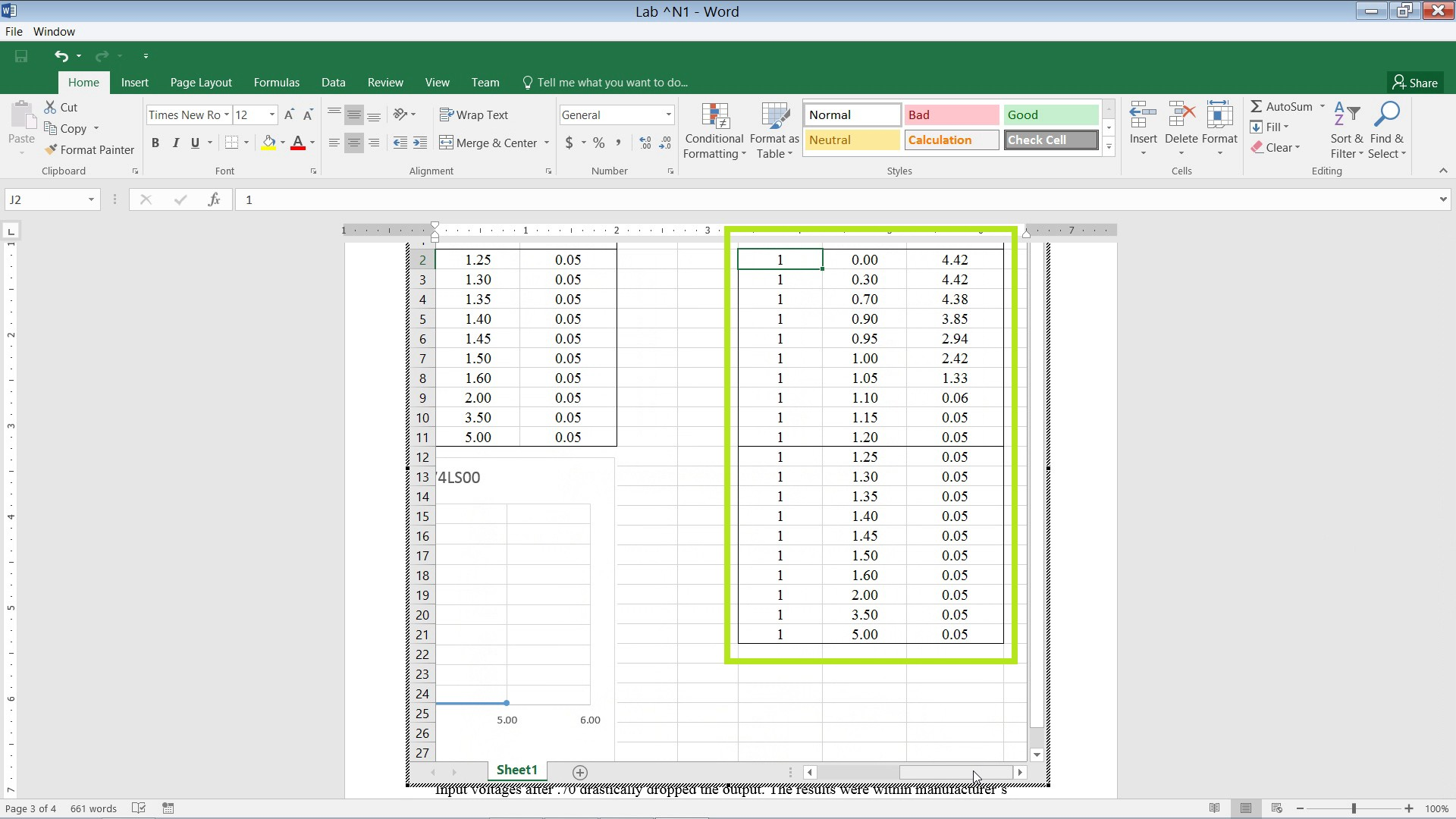 How To Insert Excel Charts Into Word